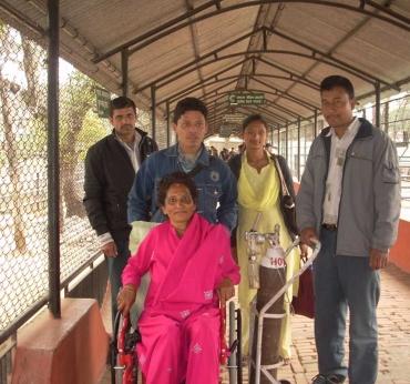 Hospice Nepal Patients