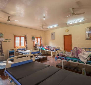 Beds in Hospice Nepal